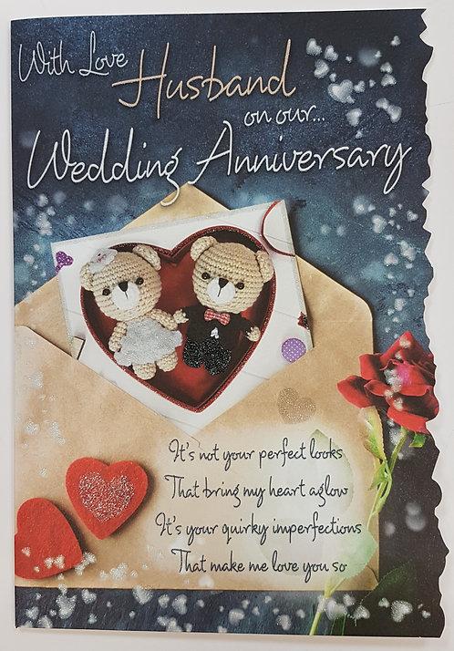 Anniversary - Husband Greeting Card