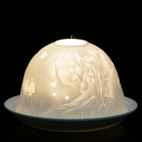 Nordic Light Candle Shade With Fairy