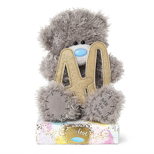 40th birthday Me To You Teddy bear holding a 40