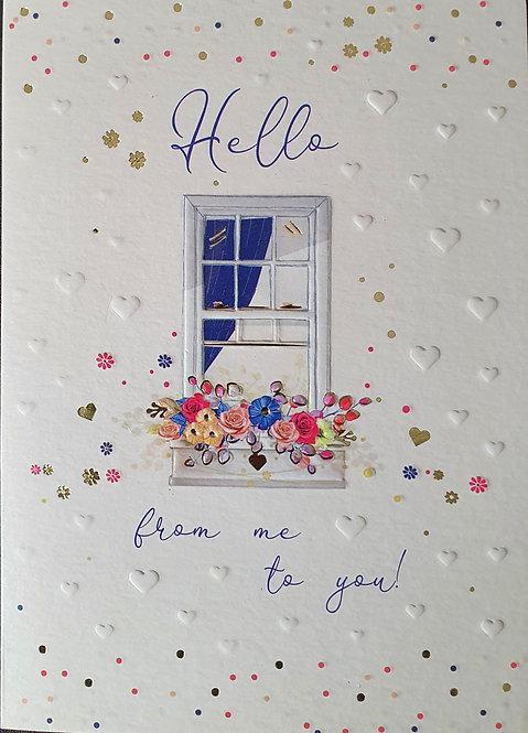 Female Greeting Card