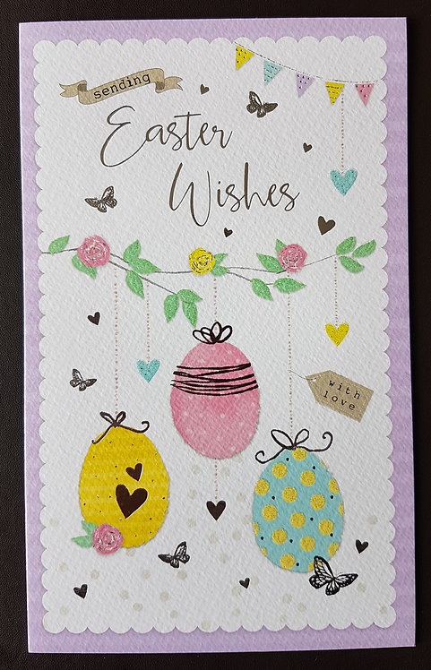 Easter Wishes - Easter Greeting Card