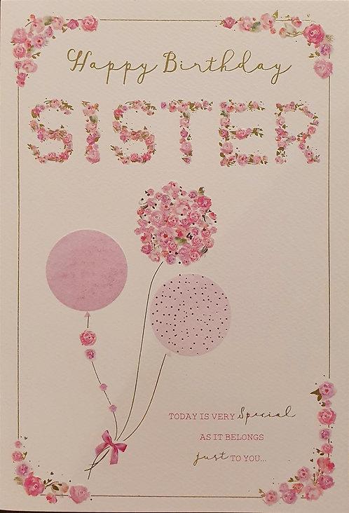 Sister Birthday Card