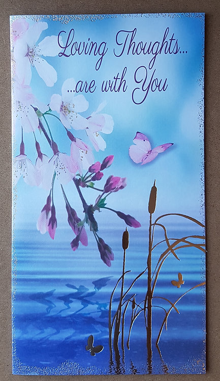 Thinking of You Greeting Card - Loving Thoughts