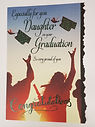graduation daughter greeting card