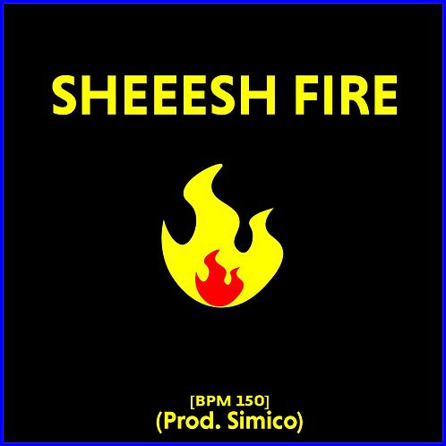 Sheesh Fire (Skii Mask Type Beat x Trap) [BPM 150]