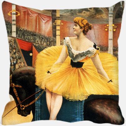 Golden Circus Girl
