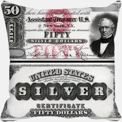 Fifty Silver Dollars