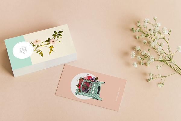 Fleur vintage cards.jpg