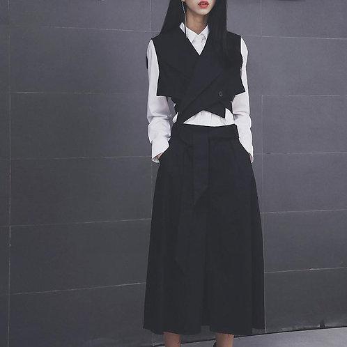 Bacovia Crop Wrap Vest