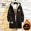 Thumbnail: Japanese style Hooded Long Trench Coat for men