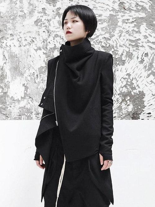 Sumire Long Sleeve Zipper Split Jacket