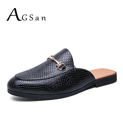 Designer Loafers Smoking Leather Slip on Flats Summer Fashion Party Shoes  Men