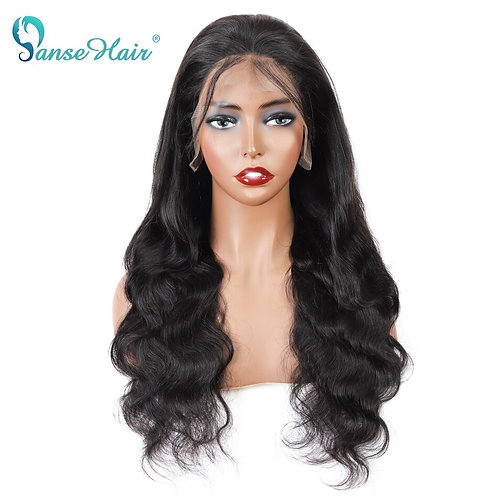 Brazilian Body Wave 13x6 100% Human Hair Wigs Pre Plucked Remy Hair Lace Frontal
