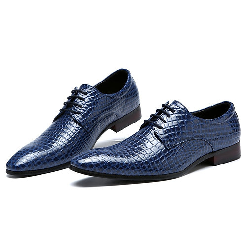 Spring Autumn Pointed Toe Men Dress Shoes