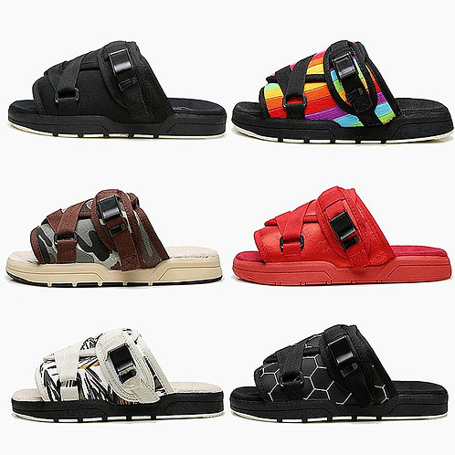 Man Slippers Fashion Thick Bottom Beach Shoes Brand Couple Casual Sandals Summer
