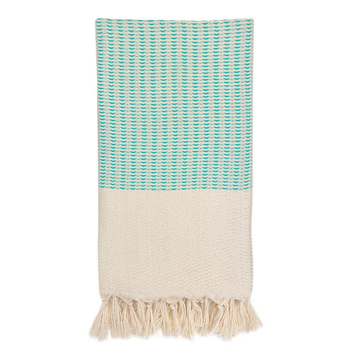 Plush Wavy Turkish Towel