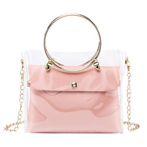 Women Luxury Jelly Transparent Shoulder Bag