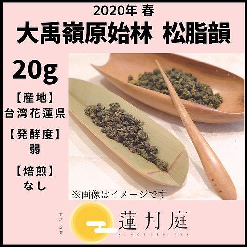 【2020年 春】大禹嶺原始林   松脂韻   20g