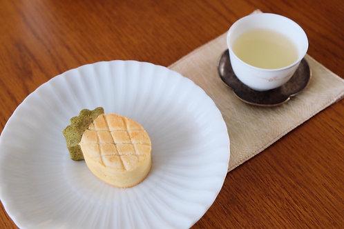 蓮月庭パイナップルケーキ 台湾高山茶葉入り