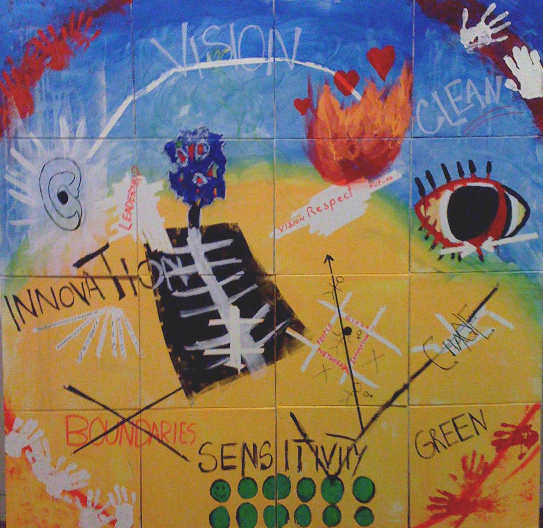 À la manière de Basquiat