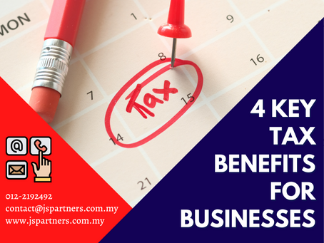 4 Key Tax Benefits For Businesses