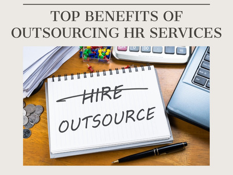 Top Benefits of Outsourcing HR Services