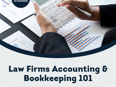 Law Firms Accounting & Bookkeeping 101