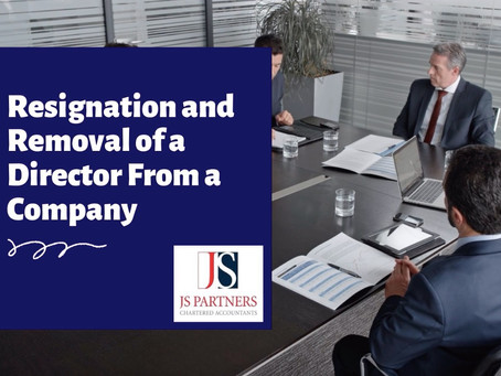 [VIDEO] Resignation & Removal of a Director From the Company