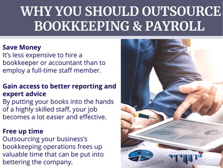 Why You Should Outsource Bookkeeping & Payroll