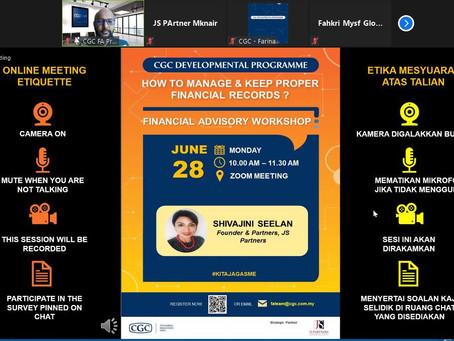 Financial Advisory Workshop for CGC Malaysia