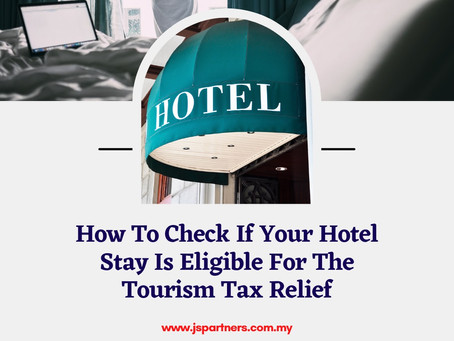 How To Check If Your Hotel Stay Is Eligible For The Tourism Tax Relief?