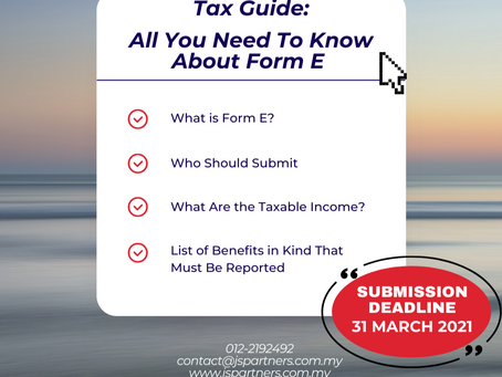 Tax Guide: All You Need to Know About Form E