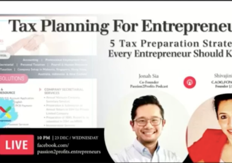 [VIDEO] 5 Tax Preparation Strategies Every Entrepreneur Should Know