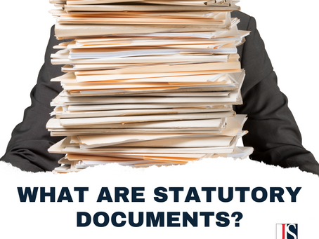 Essential Statutory Documents That You Should Take Note Of
