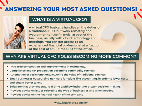 Answering Your Most Asked Questions About Virtual CFO