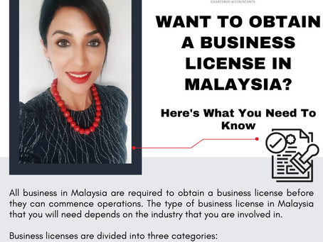 Want to Obtain a Business License in Malaysia? Here's What You Need To Know