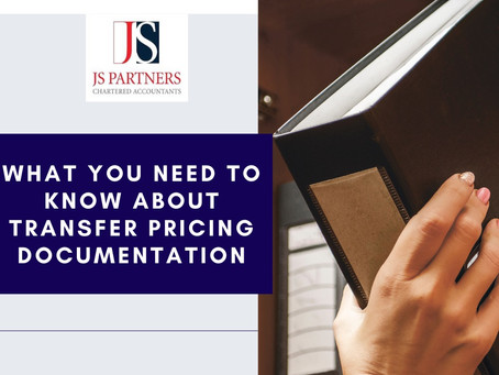 What You Need To Know About Transfer Pricing Documentation