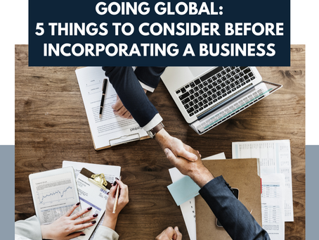 5 Things to Consider Before Incorporating a Business Overseas