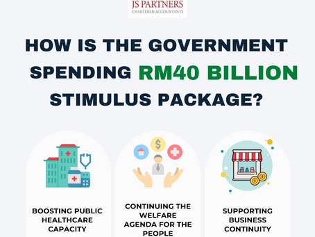 How Is the Government Spending RM40 Billion                        Stimulus Package?