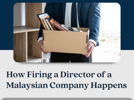 How Firing a Director of a Malaysian Company Happens