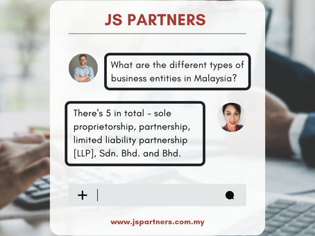 Types of Business Entities in Malaysia │Pros & Cons