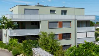 Fassade renoviert