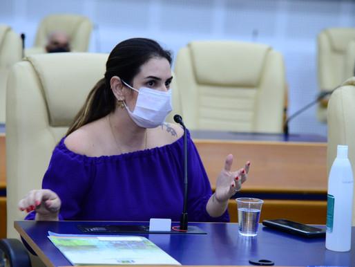 Vereadora destaca ações e propostas durante a pandemia