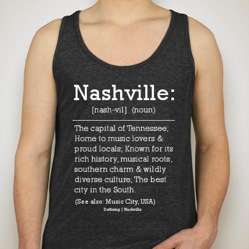Nashville Tank (Black)