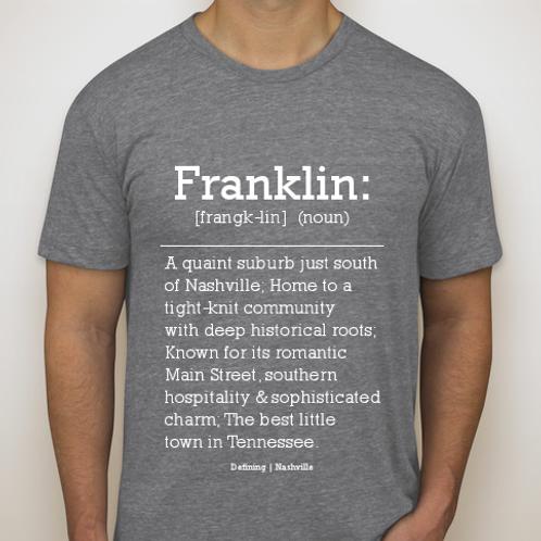 Franklin Tee (Grey)