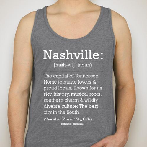 Nashville Tank (Grey)