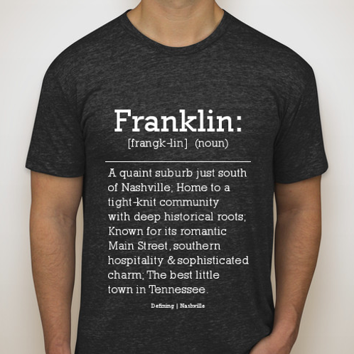 Franklin Tee (Black)