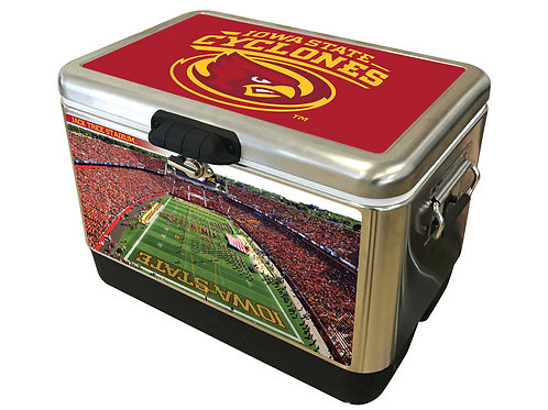 STAINLESS STEEL - Iowa State Cyclones Field Cooler