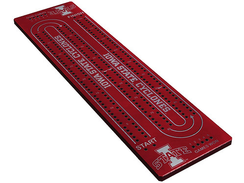 Cribbage Board - Anodized Aluminum - Custom