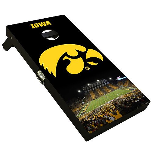 Iowa Hawkeye Kinnick Striped Boards